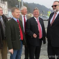 Ortsbegehung zum Projekt Georgsbergtunnel